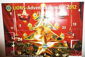Adventskalender Lions Club Bad Driburg