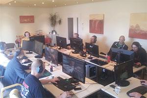 Computerspiele im Hotel Waldcafe Jäger