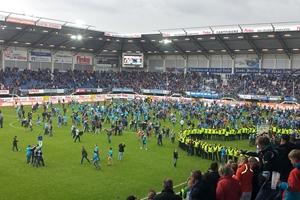 SC Paderborn 07 in erster Bundesliga