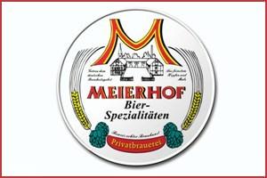 Meierhof Bier mit Rahmen
