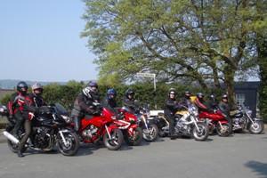 Motorradfahrer 1